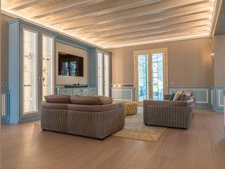 Villa rustica - Brummel Brummel Soggiorno in stile rustico Legno