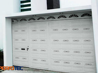 Lamitec SA de CV Garage Doors Metal White