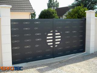 Lamitec SA de CV Garage Doors Metal Metallic/Silver