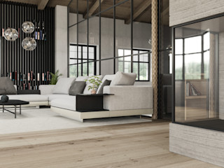 S.N.O.W. Planungs und Projektmanagement GmbH Minimalist living room