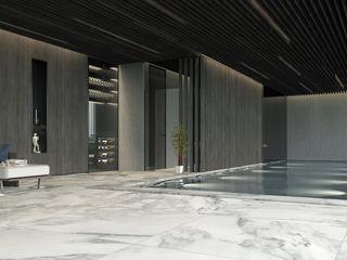 S.N.O.W. Planungs und Projektmanagement GmbH Minimalist pool