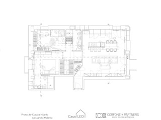CASA LEO CORFONE + PARTNERS studios for urban architecture