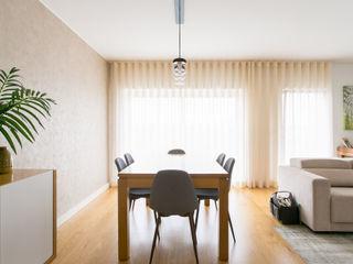 Traço Magenta - Design de Interiores ダイニングルームアクセサリー&デコレーション ベージュ