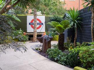 Botanical Garden on the Isle of Dogs Earth Designs Vườn phong cách nhiệt đới