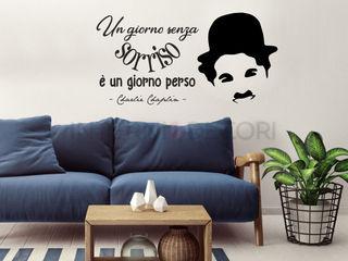 Frasi adesive a parete INTERNI & DECORI Pareti & PavimentiDecorazioni per pareti PVC Nero