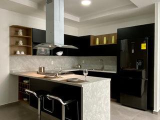 La Central Cocinas Integrales S.A de C.V 系統廚具 刨花板 Black