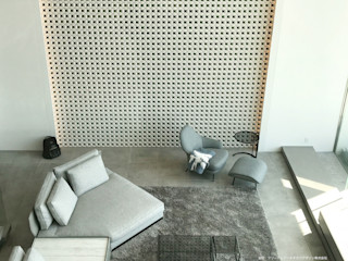 株式会社 虔山 Modern Living Room
