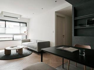 寓子設計 Phòng ăn phong cách hiện đại