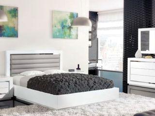 Intense mobiliário e interiores Camera da letto moderna