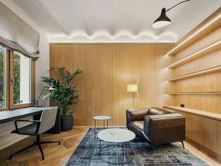 dom arquitectura Modern Çalışma Odası