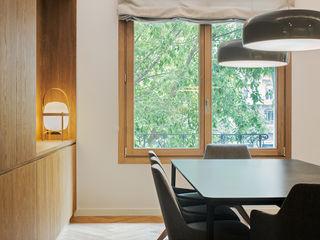 dom arquitectura Modern Yemek Odası