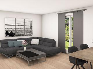 Heinz von Heiden Stratus FD 152 Dieckmann Immobilien Moderne Wohnzimmer Weiß