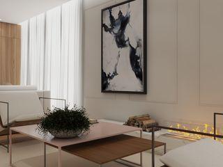 Studio M Arquitetura Livings de estilo moderno