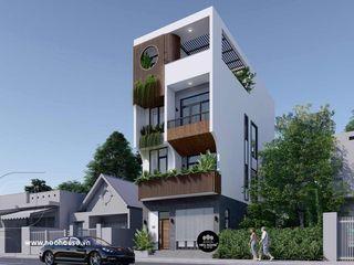 Mẫu nhà phố mặt tiền 6m hiện đại đẹp 4 tầng tại Phú Quốc NEOHouse