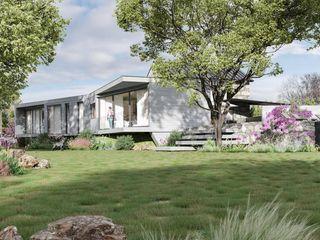House CB Alpha Details Casas de campo