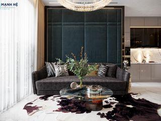 Thiết kế nội thất Eco Green - 67m2 - 2 PN - Anh Tân Công ty Cổ Phần Nội Thất Mạnh Hệ