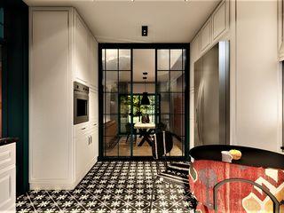 livinghome wnętrza Katarzyna Sybilska Столовая комната в эклектичном стиле