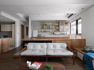 MSBT 幔室布緹 Modern living room Brown