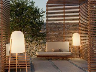 Skapetze Lichtmacher Modern balcony, veranda & terrace