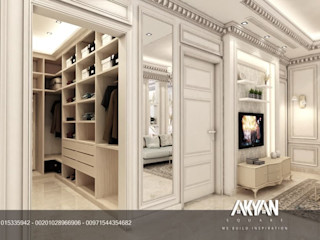 AKYAN SQUARE Dormitorios de estilo clásico
