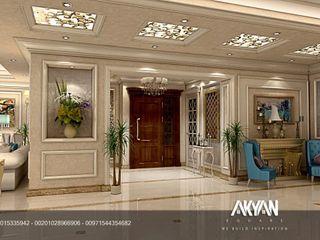 AKYAN SQUARE Pasillos, vestíbulos y escaleras de estilo clásico