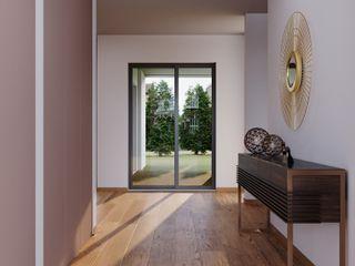 Braga House Alpha Details Corredores, halls e escadas modernos