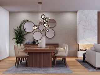 Braga House Alpha Details Salas de jantar modernas