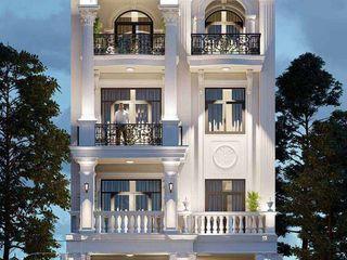 Top 10 mẫu thiết kế nhà phố tân cổ điển sang trọng bậc nhất NEOHouse