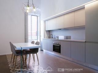 CASA MRQ CORFONE + PARTNERS studios for urban architecture Cucina moderna