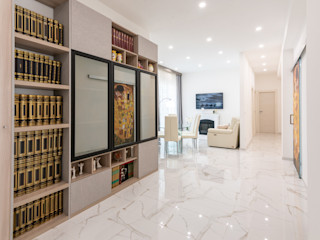 Facile Ristrutturare 現代風玄關、走廊與階梯