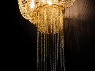 willowlamp 客廳照明 金屬 Amber/Gold