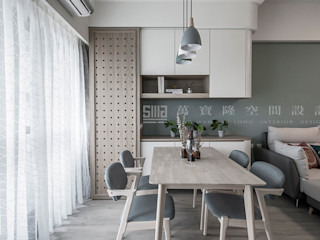 SING萬寶隆空間設計 Scandinavian style dining room