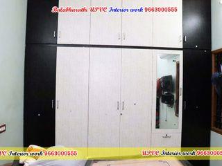 balabharathi pvc interior design DormitoriosArmarios y cómodas Plástico Negro