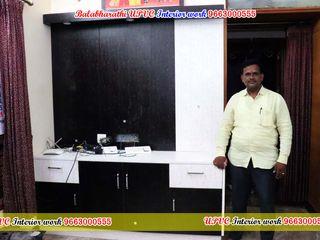 balabharathi pvc interior design Sala multimediaMuebles Plástico Acabado en madera