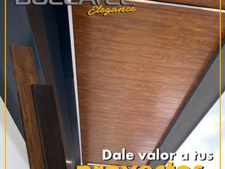 Lamitec SA de CV Flat roof Metal Wood effect