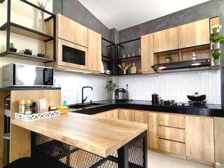 SARAÈ Interior Design Commercial Spaces Wood effect