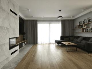 Piotr Stolarek Projektowanie Wnętrz Scandinavian style living room
