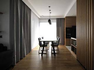 Piotr Stolarek Projektowanie Wnętrz Scandinavian style dining room
