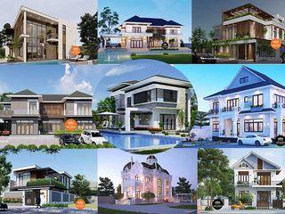 Các mẫu nhà 2 tầng đẹp ở nông thôn hiện đại xu hướng 2021 NEOHouse