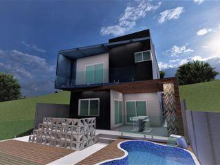 AP Arquitetura Ecoeficiente Prefab woning
