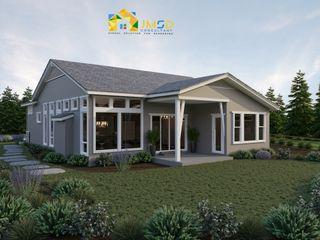 Architectural Visualization Services Hartford Connecticut JMSD Consultant - 3D Architectural Visualization Studio Single family home Tiles Grey