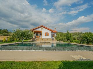 Ula Villa Projesi Serapool Bahçe havuzu Seramik Yeşil
