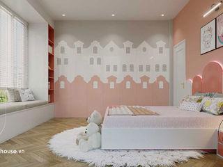 Những mẫu thiết kế phòng ngủ màu hồng đẹp sang trọng 2021 NEOHouse