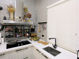 MSBT 幔室布緹 Small kitchens White