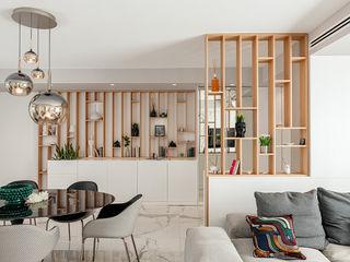 Villa M&G manuarino architettura design comunicazione Ingresso, Corridoio & Scale in stile moderno