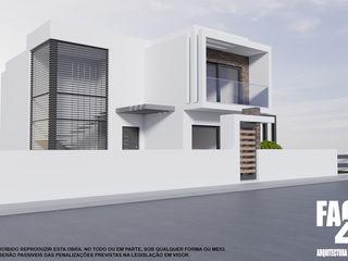 Processo B/2021/559/0@CM Seixal Factor4D - Arquitetura, Consultadoria & Gestão Casas modernas