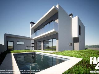 Processo 176/21@CM Almada Factor4D - Arquitetura, Consultadoria & Gestão Casas modernas