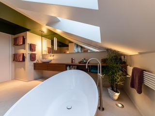 Floral Tapete Bad Vivante Moderne Badezimmer Stein Beige