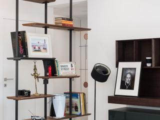 Studio GAMP! Phòng khách phong cách tối giản