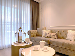 MSBT 幔室布緹 Modern living room Beige